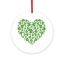 My Irish Heart Ornament (Round)