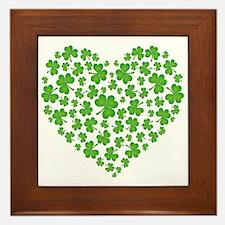 My Irish Heart Framed Tile