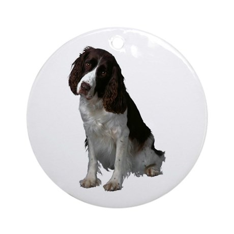 Springer Spaniel Ornament (Round)