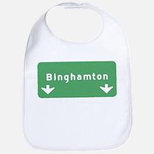 Binghamton Sign T-shirts Bib