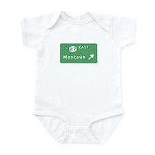 Montauk Exit Sign T-shirts Infant Bodysuit