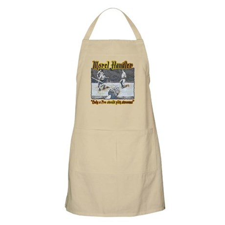 Morel mushroom handler gifts and t-shirts BBQ Apro