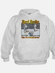 Morel mushroom handler gifts and t-shirts Hoodie