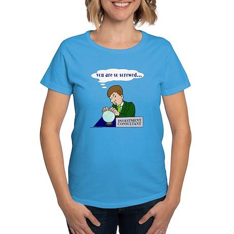 Humorous Investment Consultant Women's Dark T-Shir