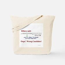 HillarySaid Tote Bag