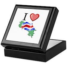 I Love Costa-Rica Keepsake Box