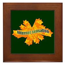 Internet Sensation Framed Tile