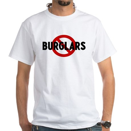 Anti burglars White T-Shirt