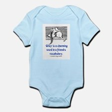 STAY IS A CHARMING WORD Infant Bodysuit