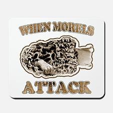 Morel Morchella Fungi gifts Mousepad