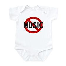 Anti music Infant Bodysuit