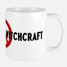 Anti witches and witchcraft Mug