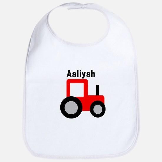 Aaliyah - Red Tractor Bib