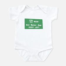 Delaware Water Gap T-shirts Infant Bodysuit