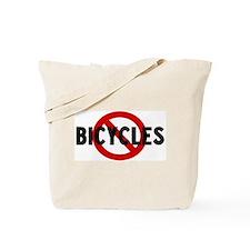 Anti bicycles Tote Bag
