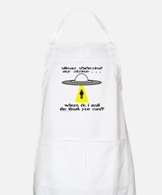 ALIENS ABDUCTED MY SISTER BBQ Apron