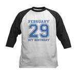 Varsity 29 Birthday Kids Baseball Jersey