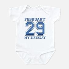 Varsity 29 Birthday Infant Bodysuit