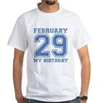 Varsity 29 Birthday White T-Shirt