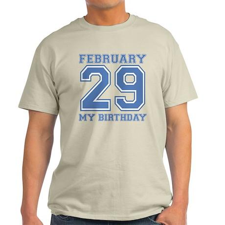 Varsity 29 Birthday Light T-Shirt
