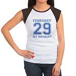 Varsity 29 Birthday Women's Cap Sleeve T-Shirt