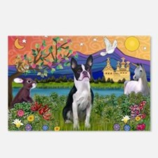 Fantasy Land/Boston T Postcards (Package of 8)