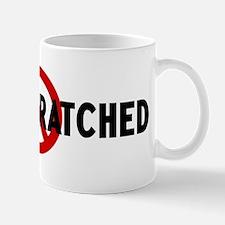 Anti being scratched Mug