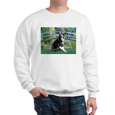 Bridge & Boston Terrier Sweatshirt