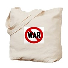 Anti war Tote Bag