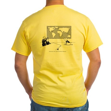 Find Humanity Yellow T-Shirt