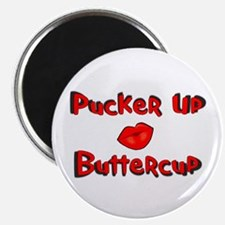 "RK Pucker Up Buttercup 2.25"" Magnet (10 pack)"