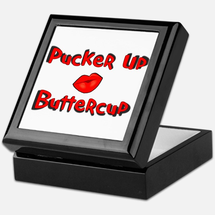 RK Pucker Up Buttercup Keepsake Box