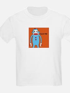 Sock Monkey Hug Me T-Shirt