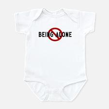 Anti being alone Infant Bodysuit