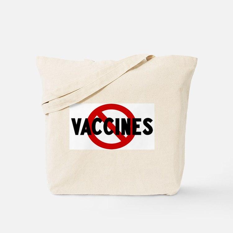 Anti vaccines Tote Bag