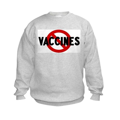 Anti vaccines Kids Sweatshirt