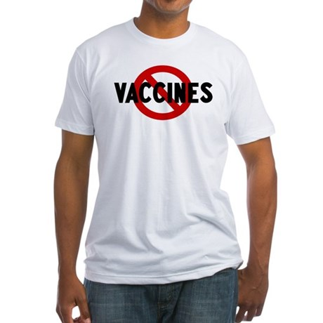Anti vaccines Fitted T-Shirt