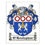 O'Houlaghan Family Crest Small Poster