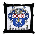O'Houlaghan Family Crest Throw Pillow