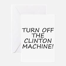 Anti-Hillary & Bill Clinton M Greeting Card