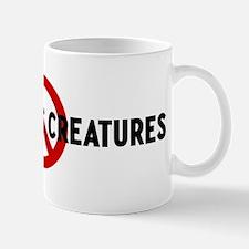 Anti animatronic creatures Mug