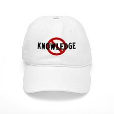 Anti knowledge Baseball Cap