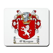 O'Keegan Family Crest Mousepad