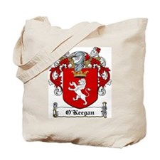 O'Keegan Family Crest Tote Bag