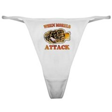 When morels attack Classic Thong