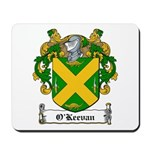 O'Keevan Family Crest Mousepad