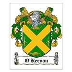 O'Keevan Family Crest Small Poster