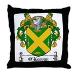 O'Keevan Family Crest Throw Pillow