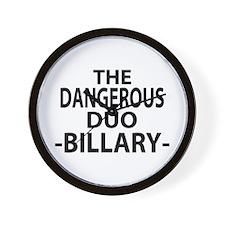 Anti-Billary Wall Clock