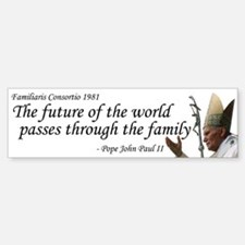 Future of the World Bumper Car Car Sticker